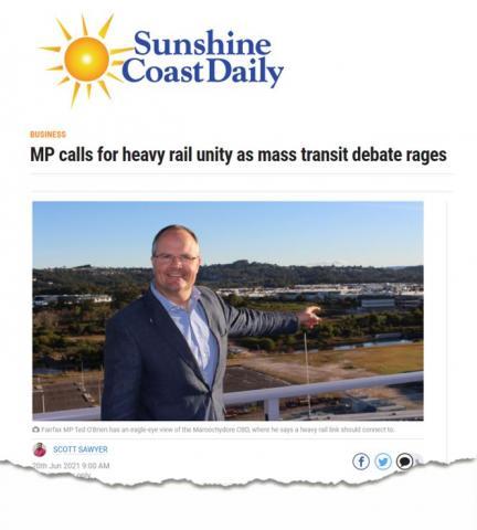 Ted O'Brien Federal Member for Fairfax Sunshine Coast