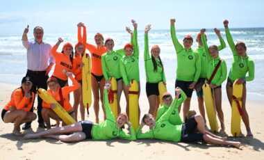 Ted O'Brien Marcoola Surf lifesaving Club