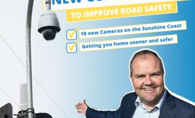 Ted O'Brien MP Sunshine Coast CCTV Cameras